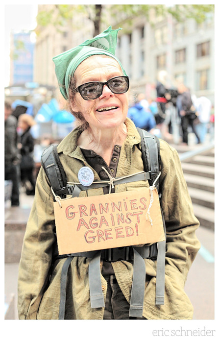 Grannies Against Greed!