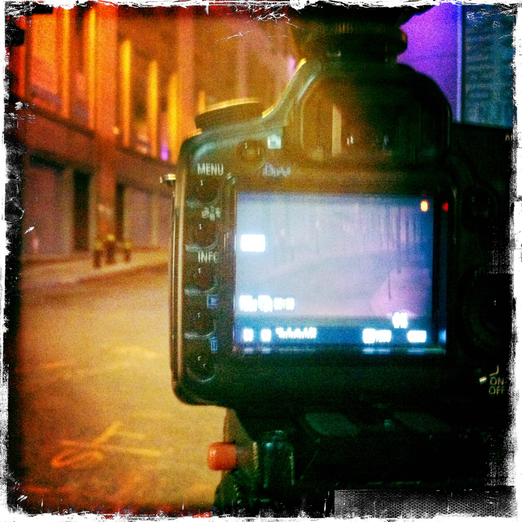 Platt and Gold Streets 1:07 a.m.