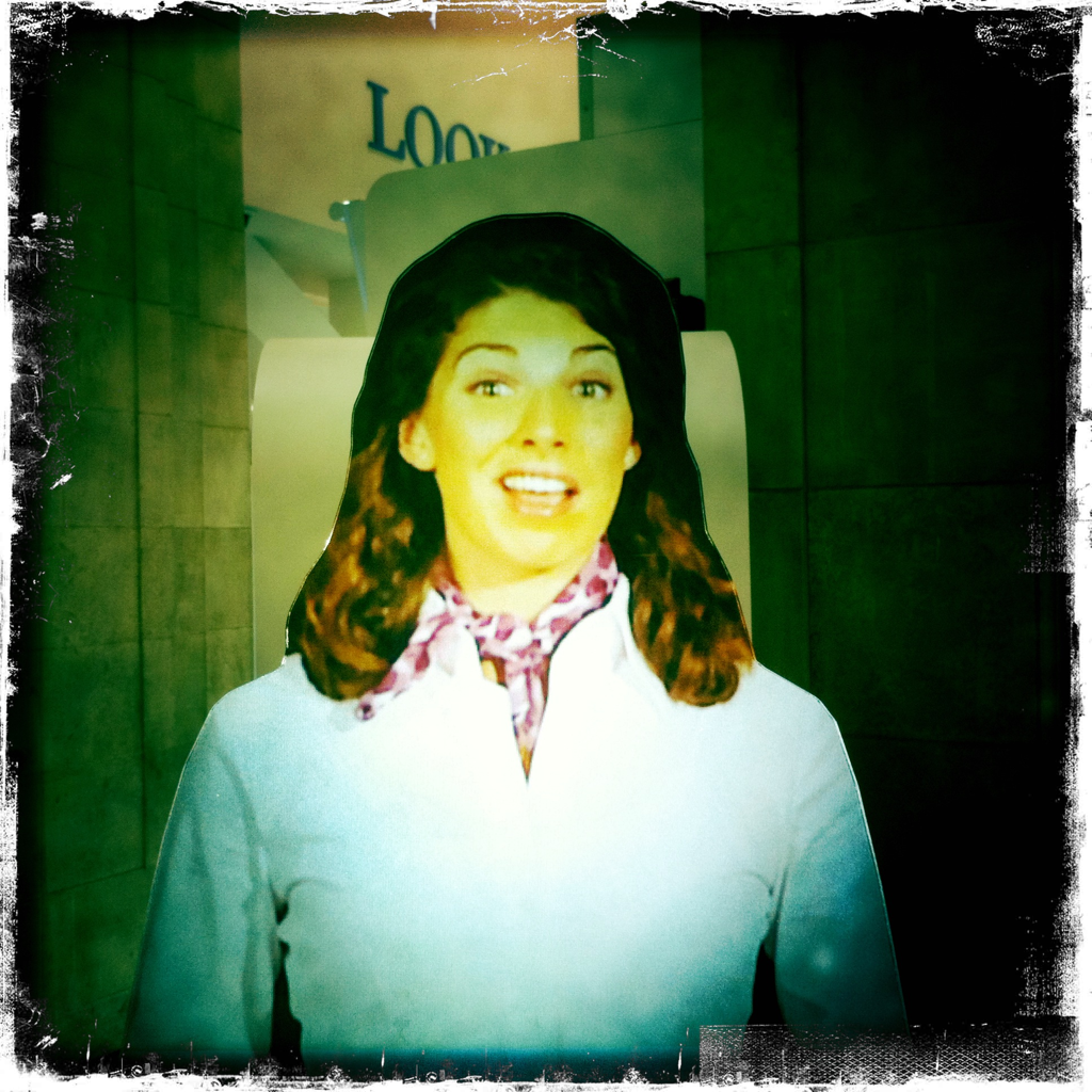 Duane Reade Hologram Lady