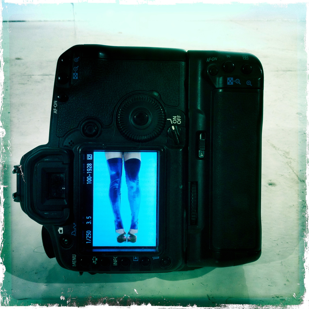 These legs are not going to photograph themselves!.. Or are they?…