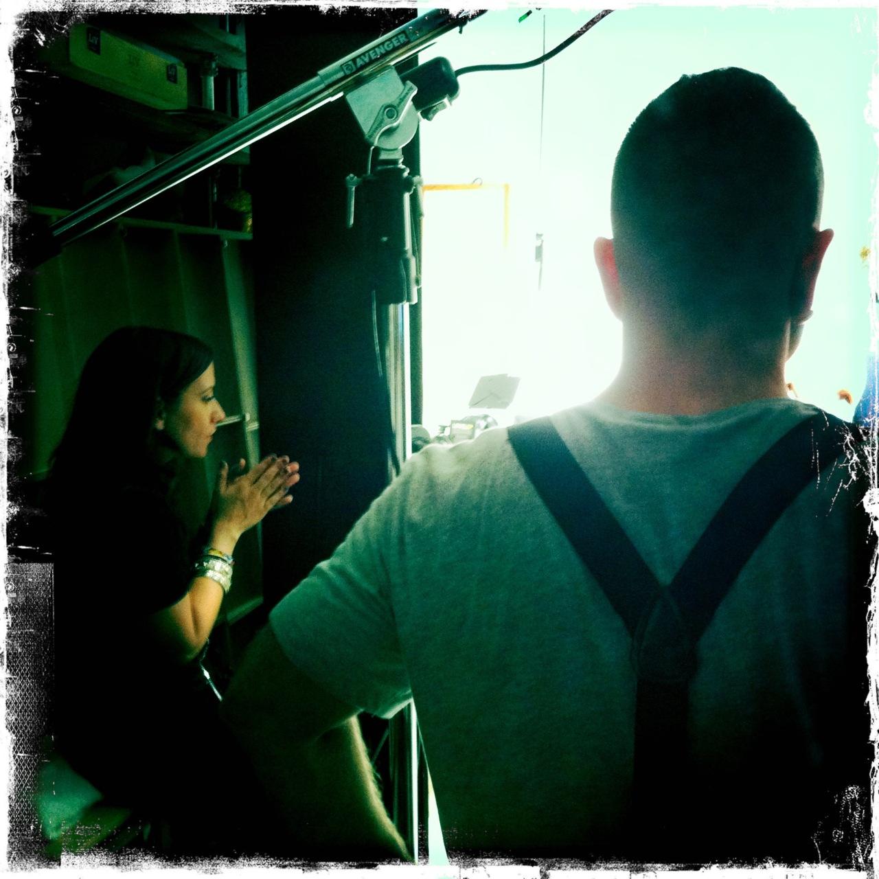 @sarahmccolgan and @LegendaryDamon creating the magic!