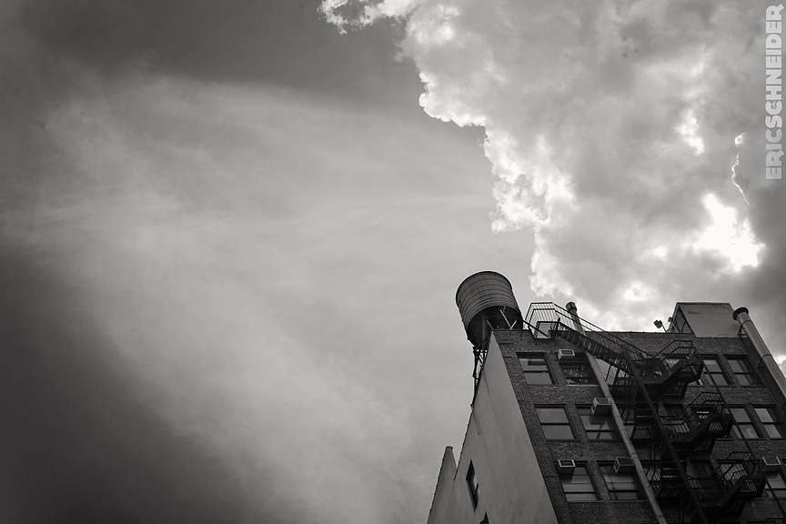 A Building And A Cloud.