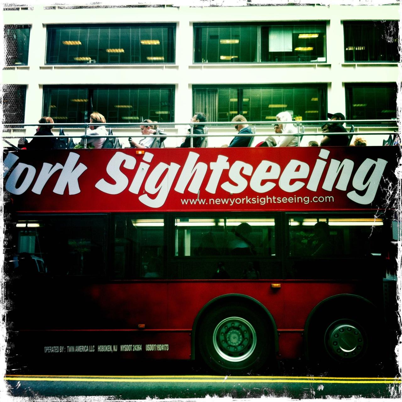 Sightseeing.