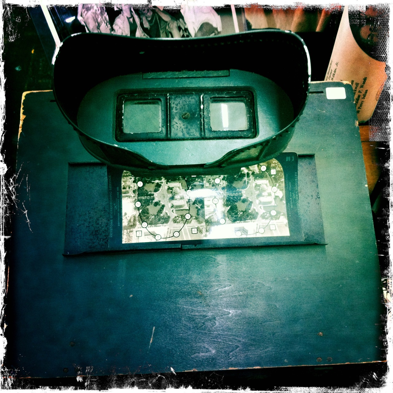 Stereoscope.