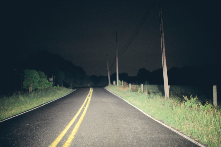 Maryland Dark Road.
