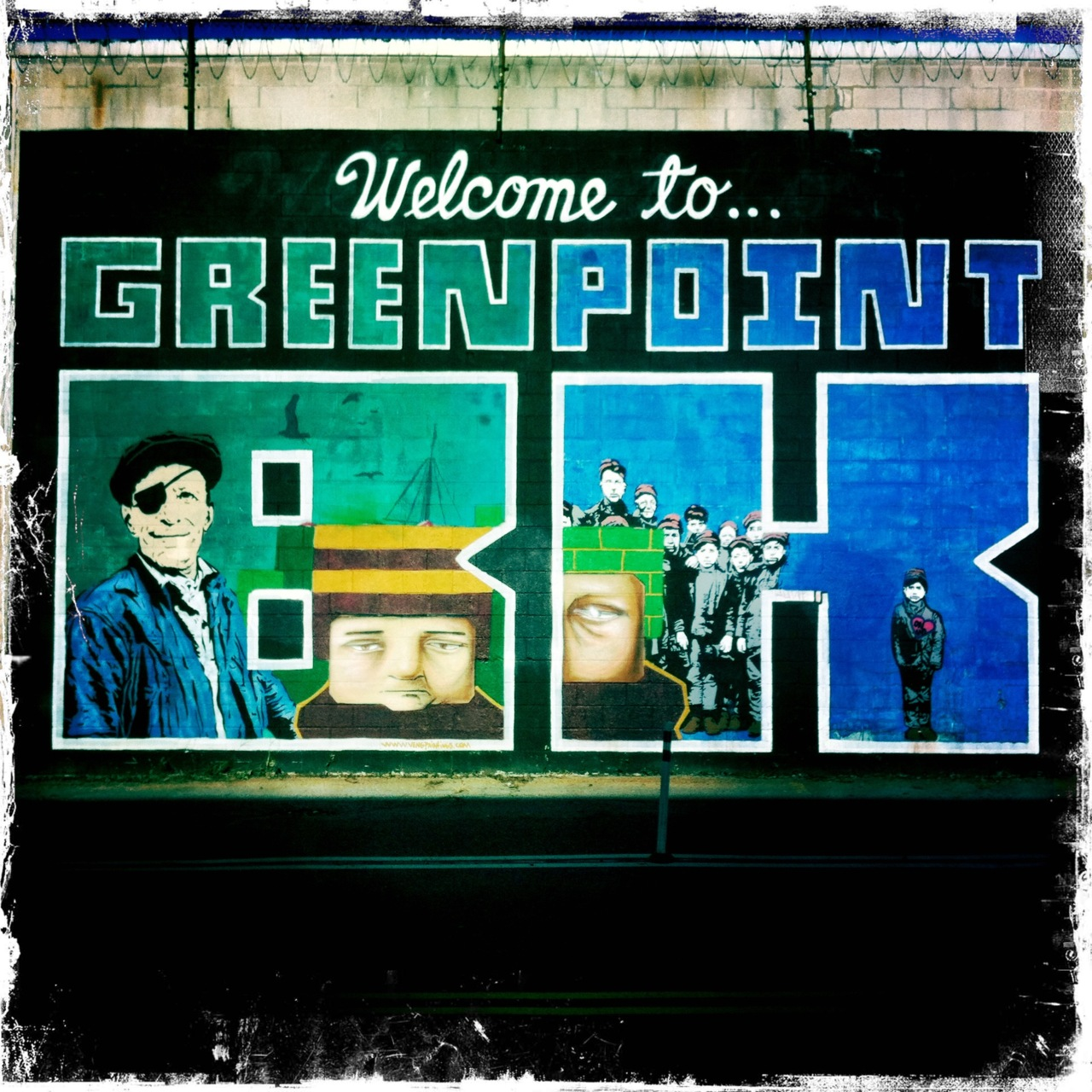 Greenpoint. Welcome.