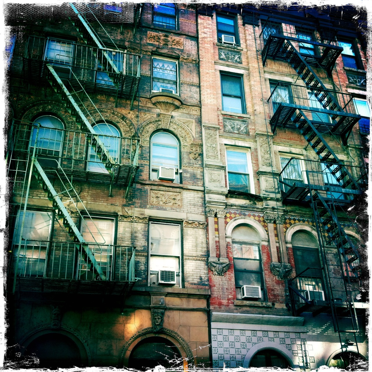 Tenement. Lower East Side. NYC.
