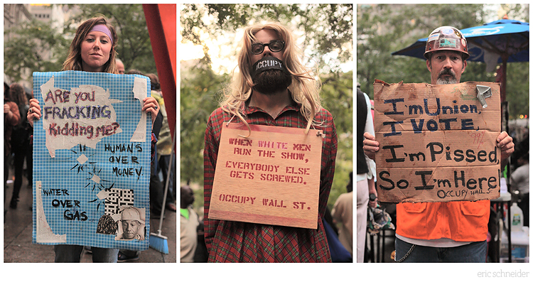 Occupy Wall Street. Ongoing Photo Essay. See More Here: http://mutablefilms.squarespace.com/news/2011/10/14/occupy-wall-street-the-people-an-ongoing-photo-essay.html