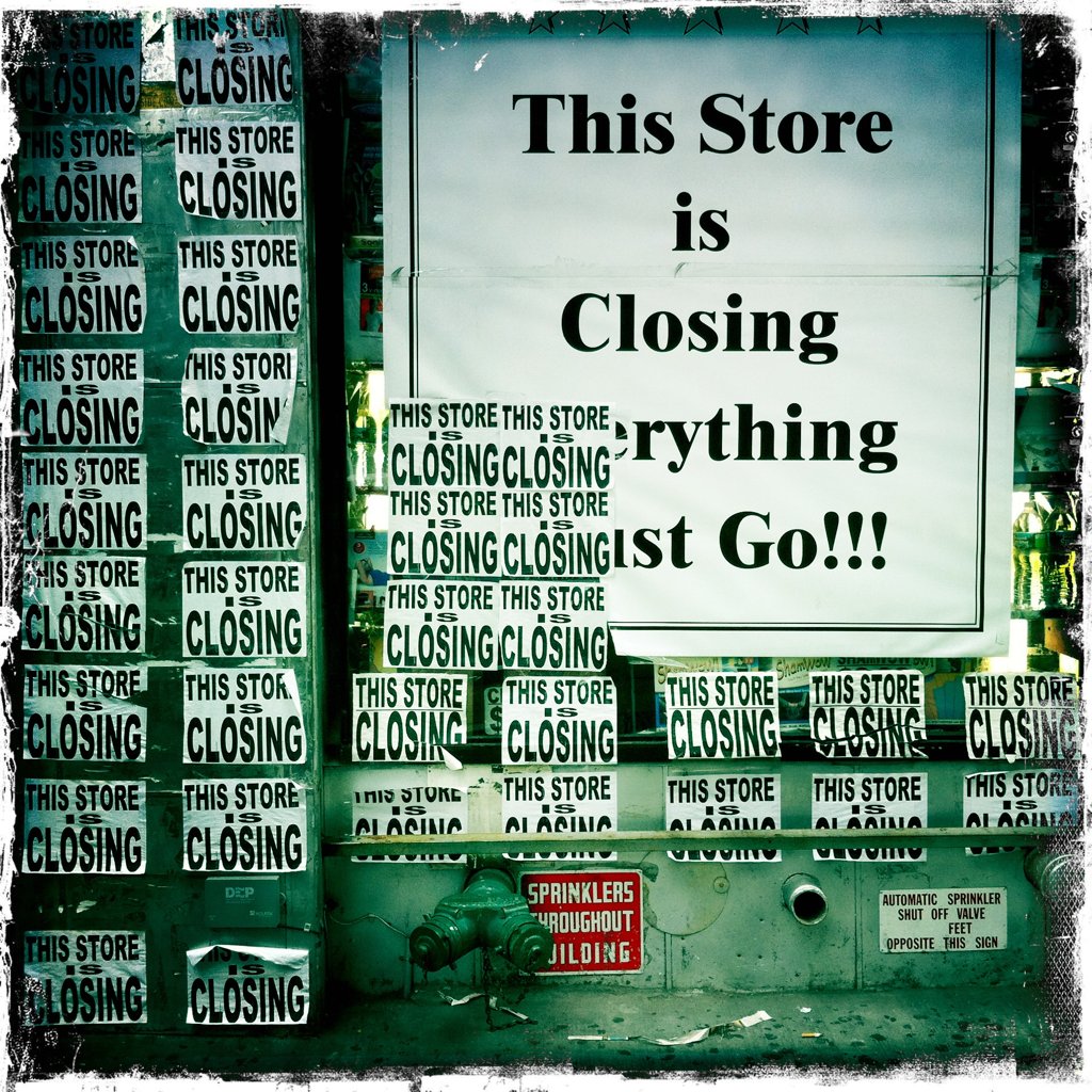 This store is closing.