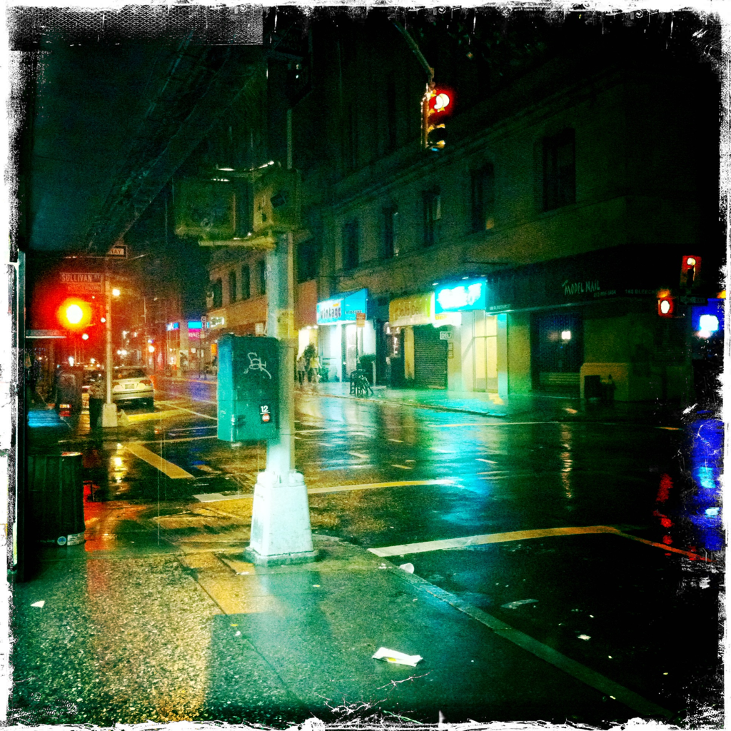 Sullivan and Bleecker 9:10 p.m.