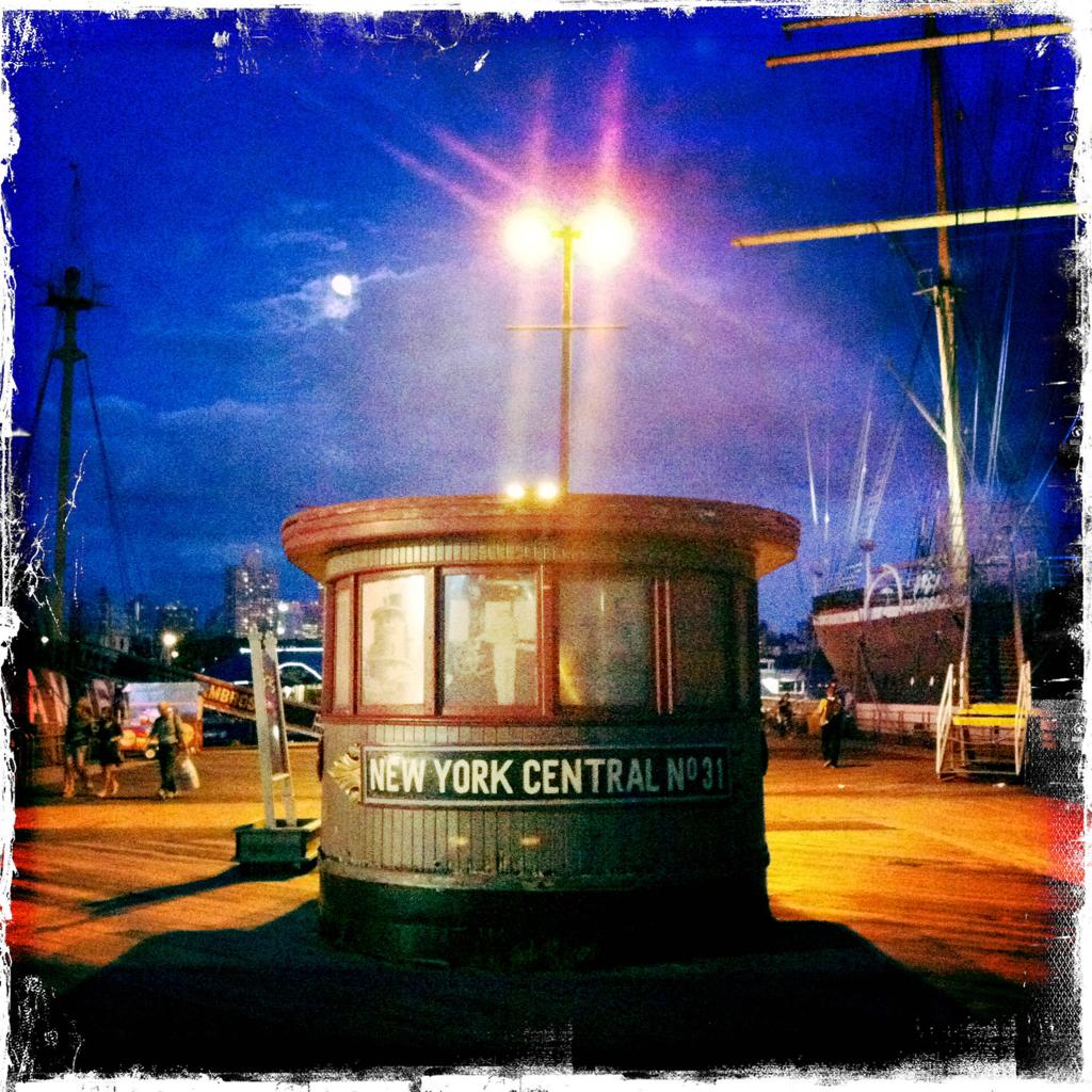 South Street Seaport 8:22 p.m.