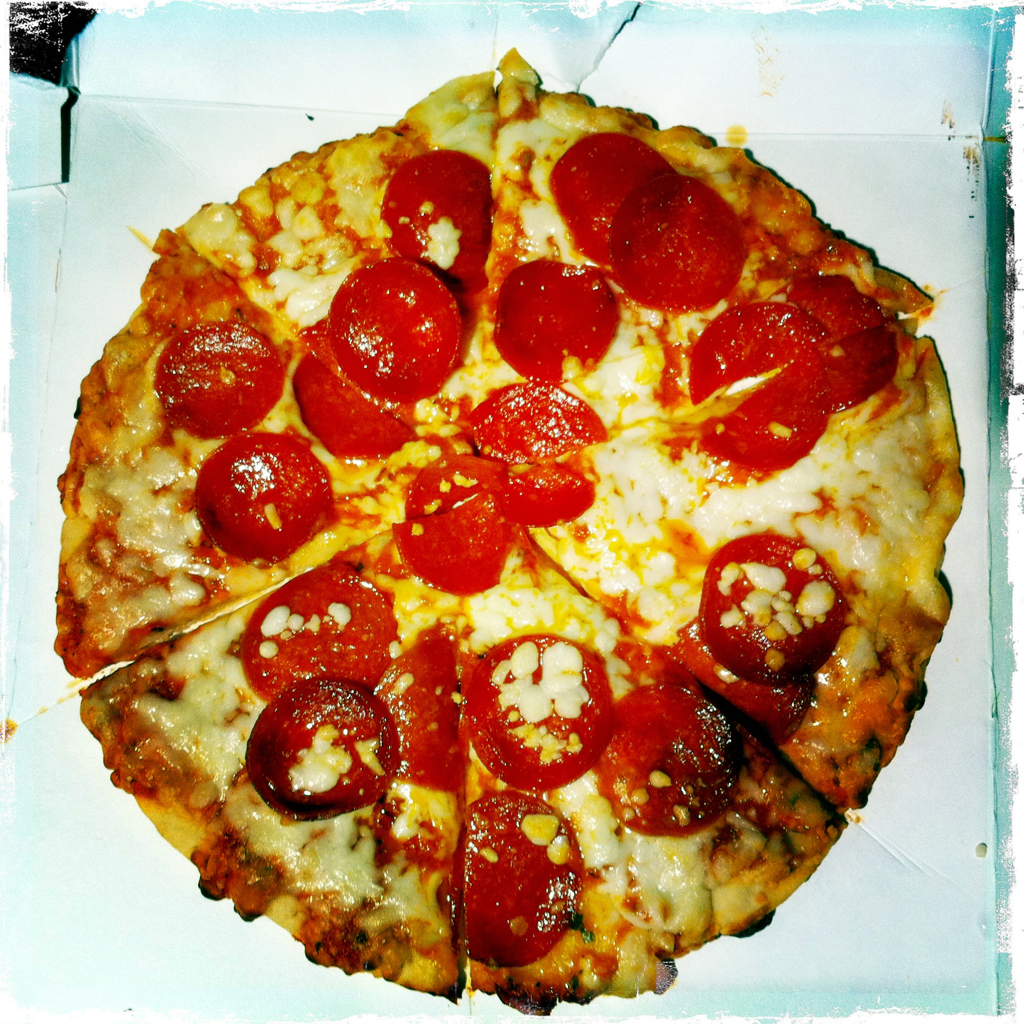 The Pizza.
