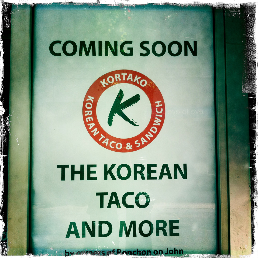 Coming Soon The Korean Taco And More