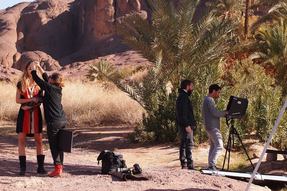 SPEEDBALL PRODUCTIONS Fotoproduktion Locations Marokko Morocco