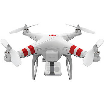 DJI Phantom Quadcoptre with GoPro Mount