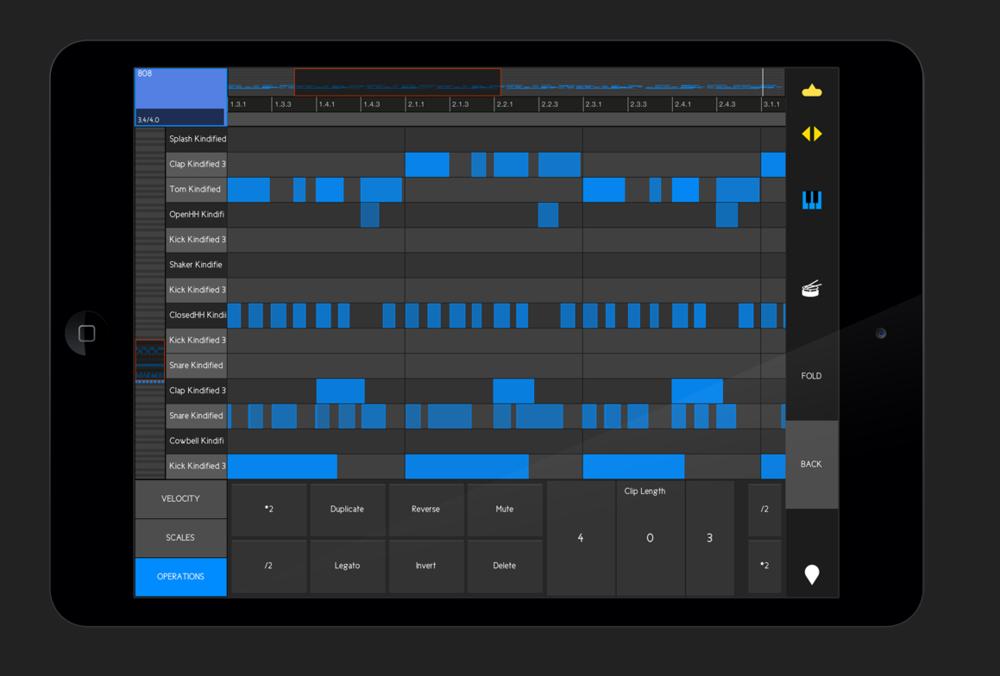MIDI Clip Editor