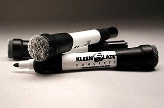 KleenSlate Bullet nose Dry Marker & Eraser  $2.35