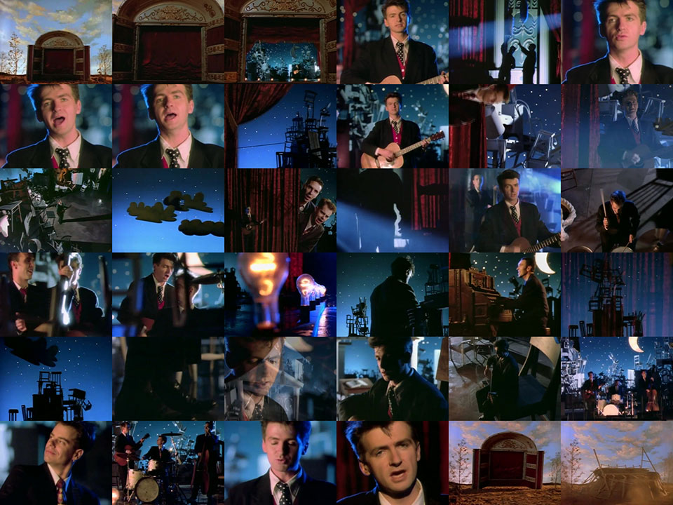 Crowded House - Better Be Home Soon   1988  music video