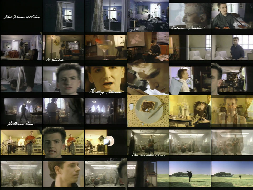 Crowded House - Don't Dream It's Over [Version 1]    1987  music video
