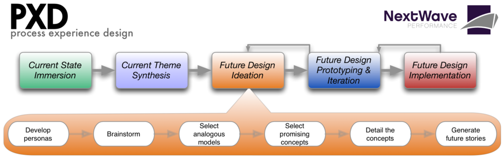 The Process Experience Design Methodology and all materials at NextWave Performance LLC
