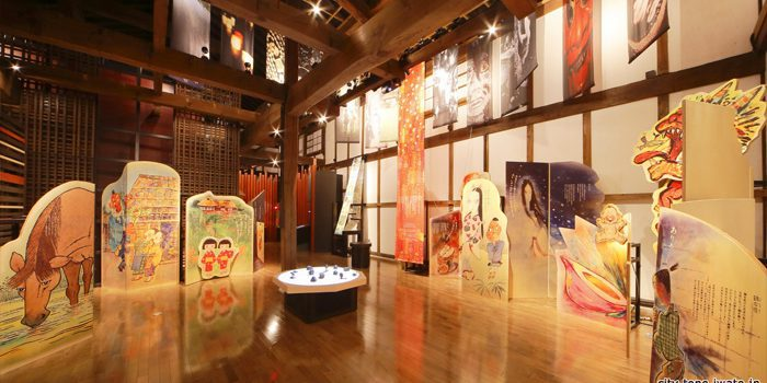 Tono Monogatari - TONO MONOGATARI, FOLKTALE MUSEUM:An unspoken story for an oral history...Interactive projection mapping and sensor animated exhibit.To celebrate the anniversary of the publication of Tono Monogatari, Juncture was contacted to develop an interactive exhibit installation that would reach more visitors of the museum by communicating Japanese stories visually.