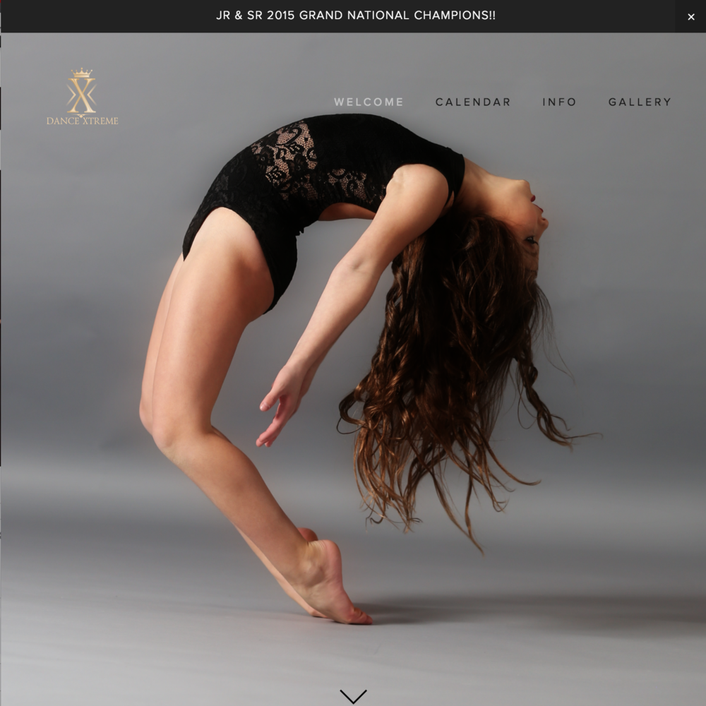 Dance Xtreme New York  Social Media Marketing & Website Development