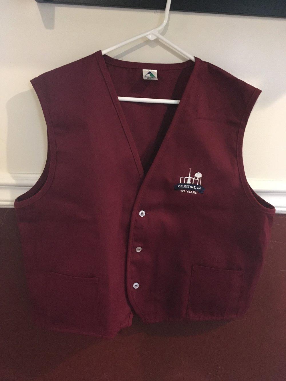 Vest (M, XL, XXL only) - $20