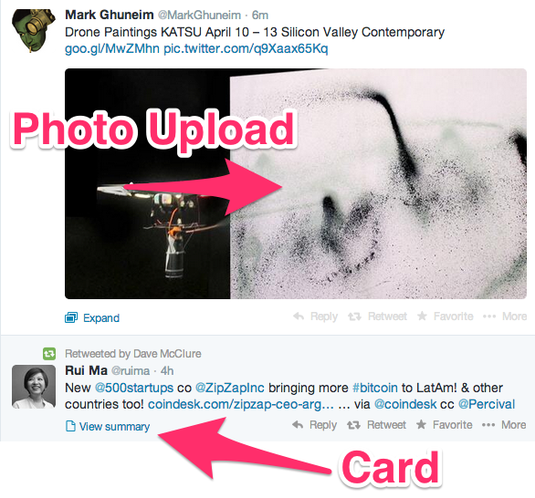 Photo uploads get favored over Twitter Cards