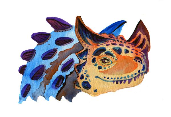 Horned Carnosaur