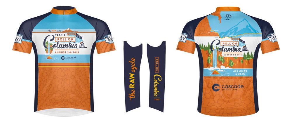 2015 Bike Jersey    Image rendering cour  tesy of Primal.