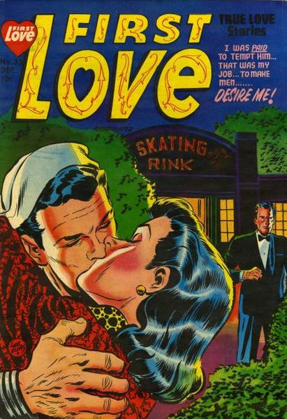 Cover scan of a public domain comic book.
