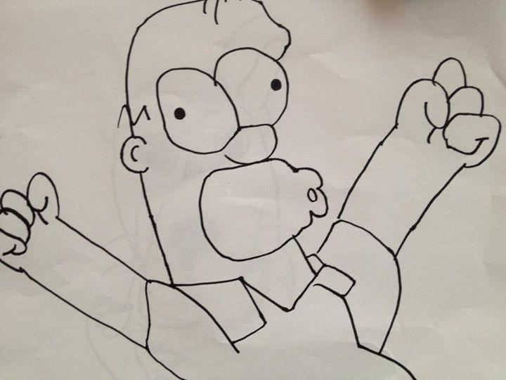 Ema (9) Homer Simpson