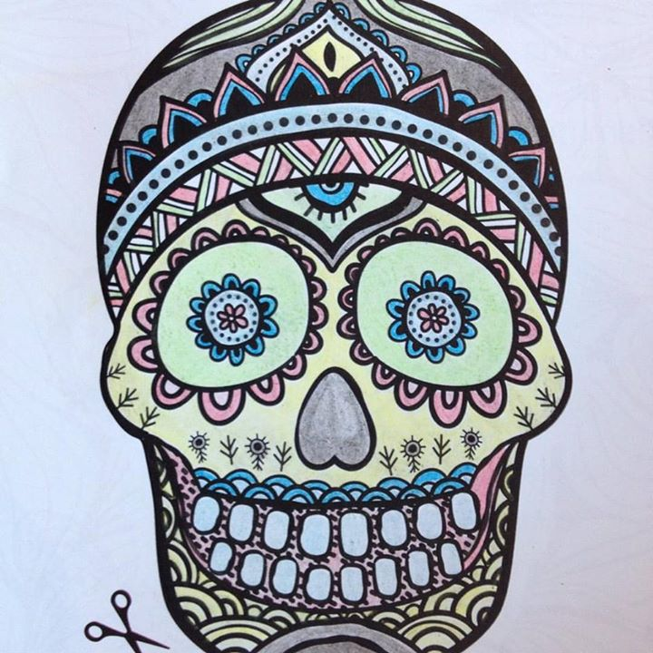 - The COmpleted Art Therapy Doodle