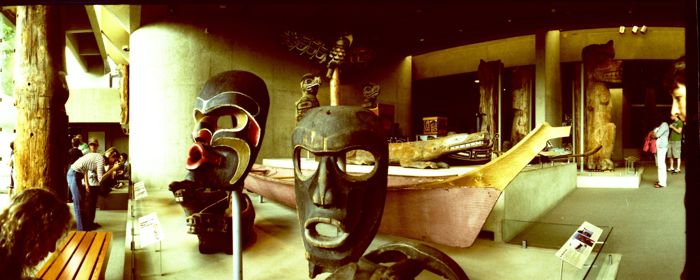 The Museum of Anthropology, Vancouver BC