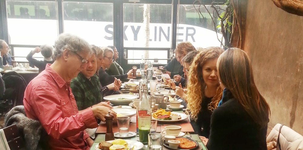 Indie Kindred Community Brunch in Chelsea, Photo by Bella Cirovic