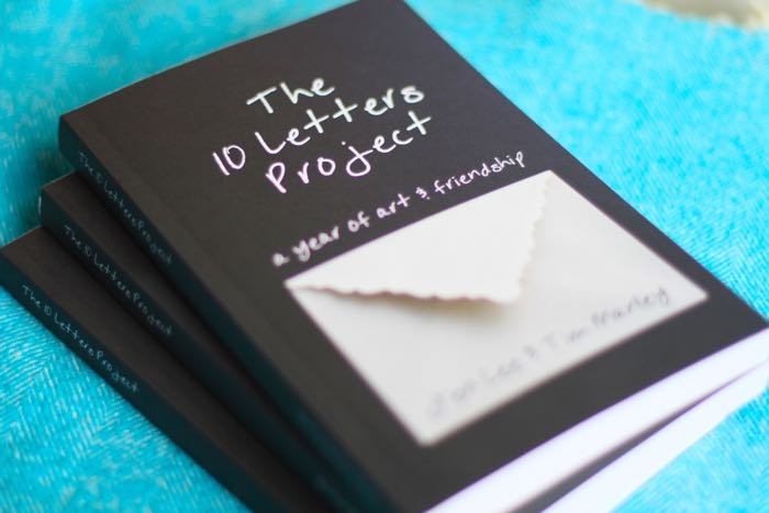 The 10 Letters Project  is  now available on Amazon .
