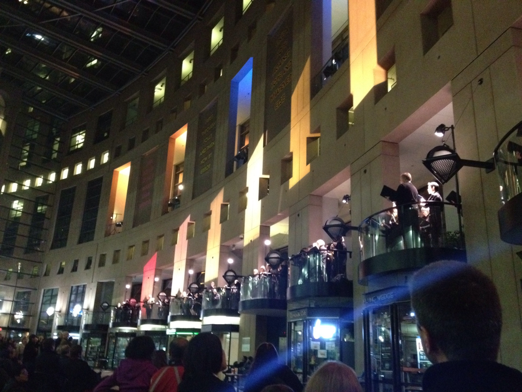 Redshift + Bach Choir @ The Vancouver Public Library