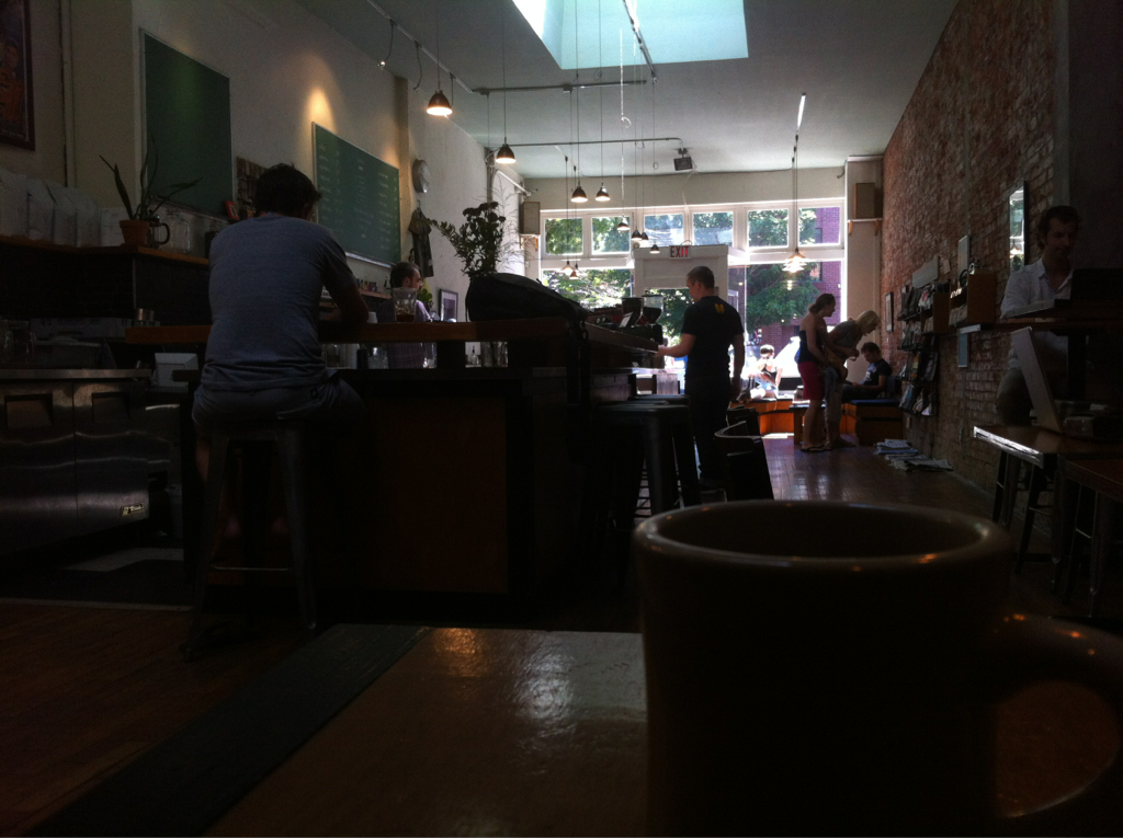 Habit Coffee in Victoria, BC. If you're downtown, give it a go.