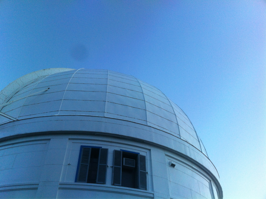 Looking into space with large telescopes: always epic.