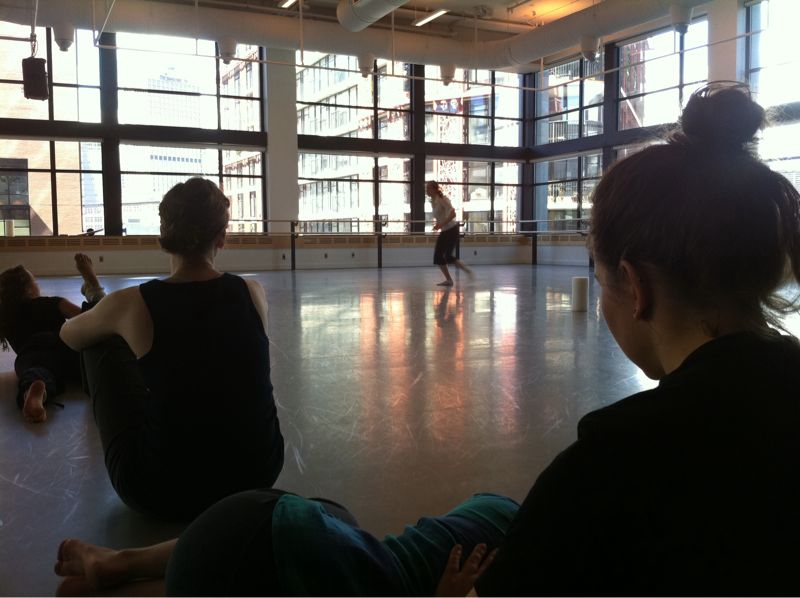 Rehearsing for the SFU Dance Grad Show—May 6-7!