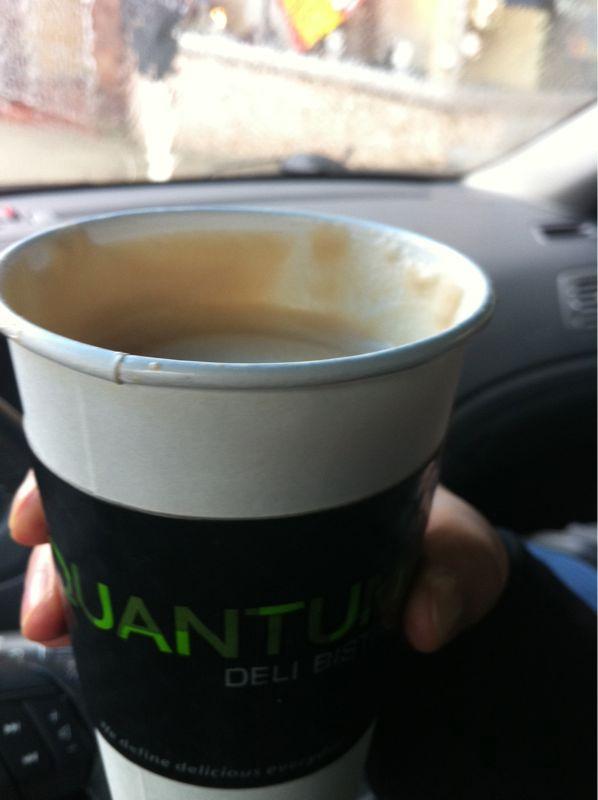 Best latte in New West! (Quantum Bistro)