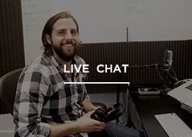 Chat directly with a support specialist for immediate answers to your questions.