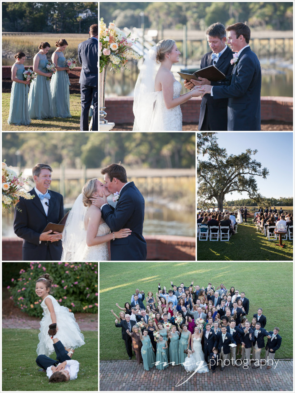 Dunes West Wedding Photographs