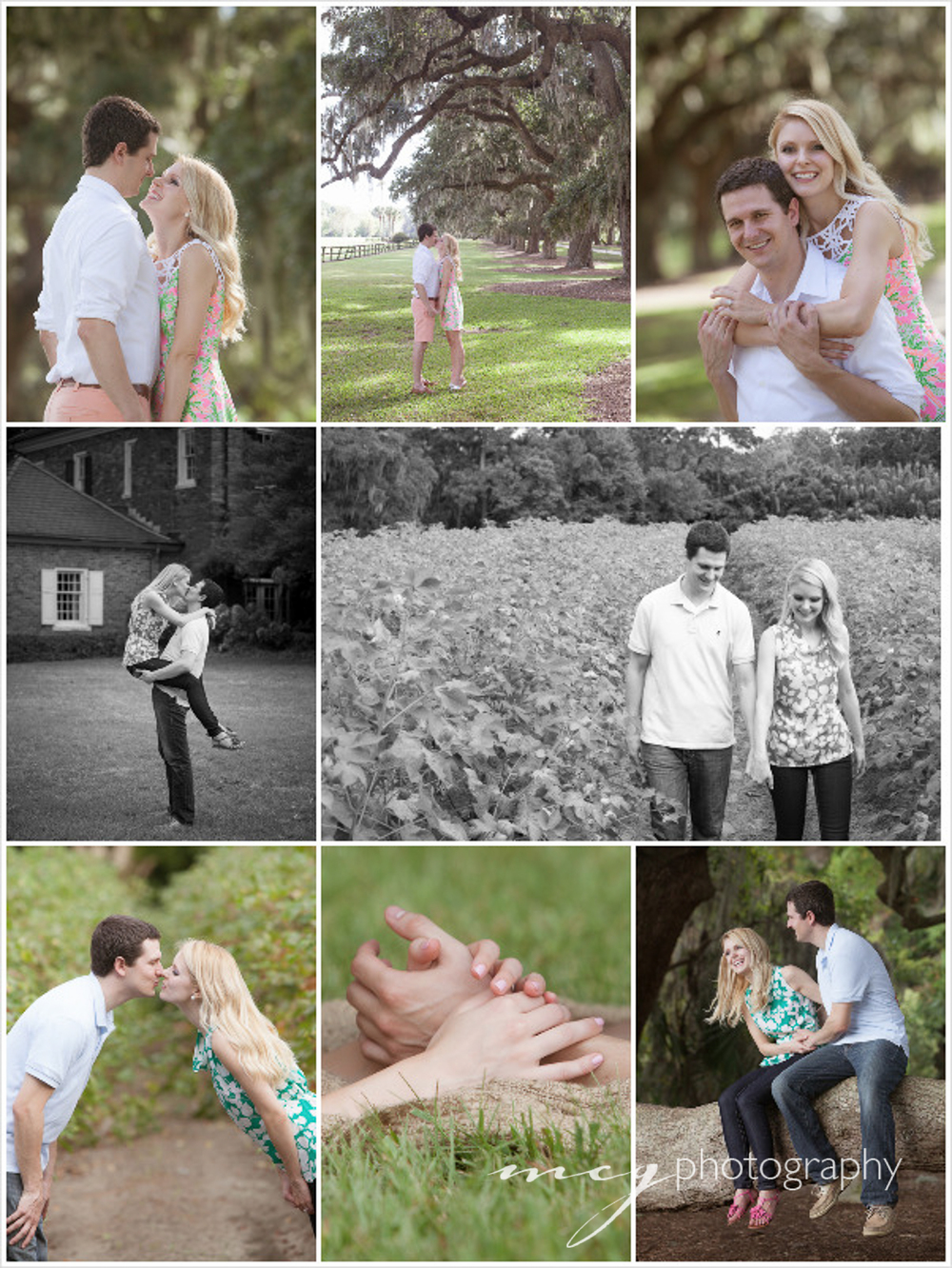 Boone Hall Engagement Photography