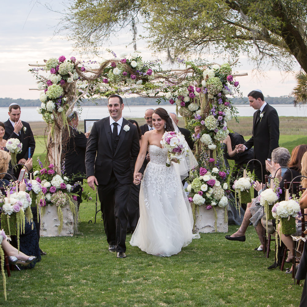 River Course Ceremony by MCG Photography