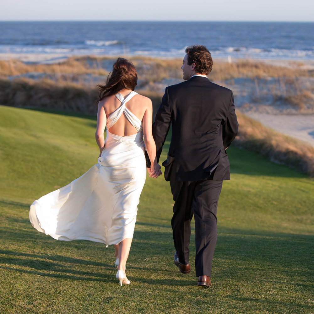 Ocean Course Bride and Groom by MCG