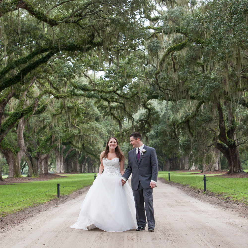 Boone Hall Oak Alley by MCG