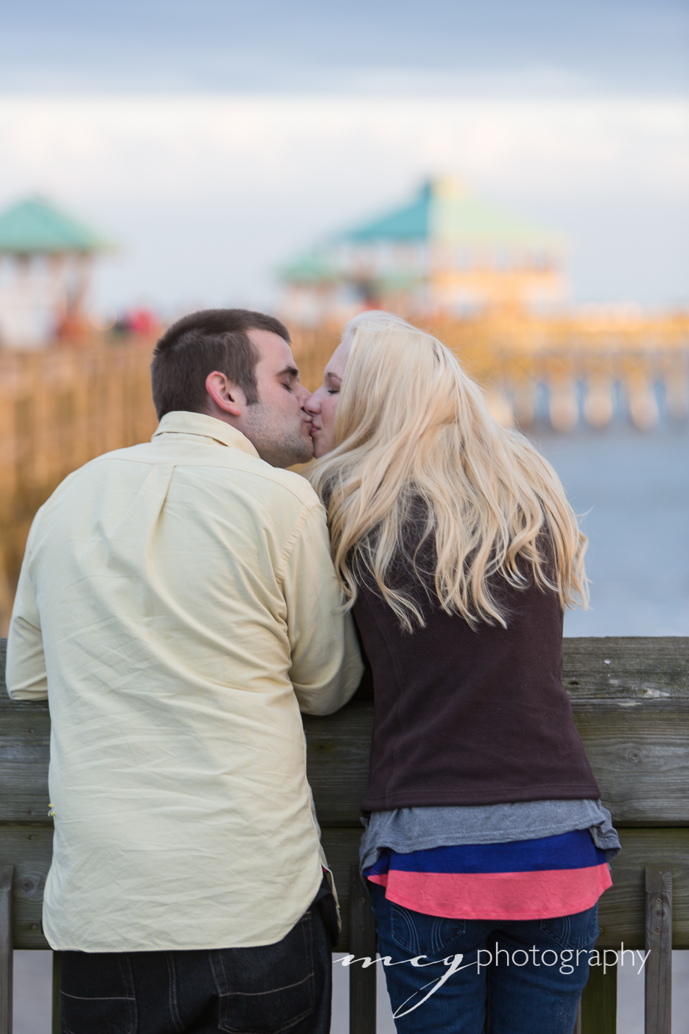 Folly Beach Engagement Session