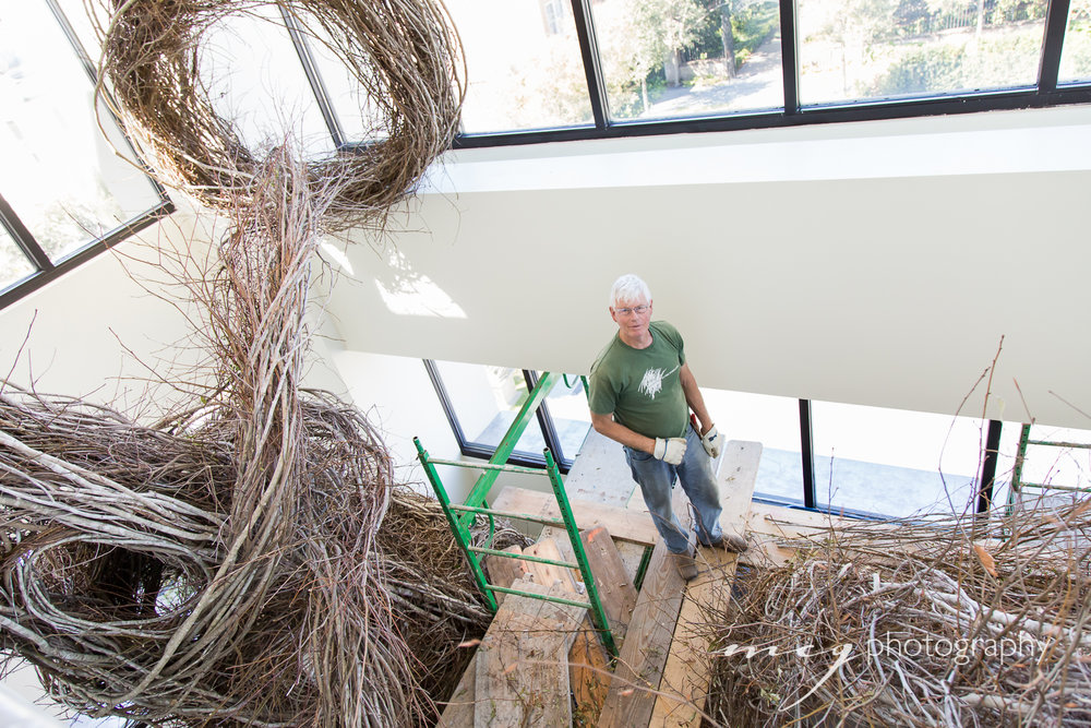 Patrick-Dougherty-Gibbes-Installation