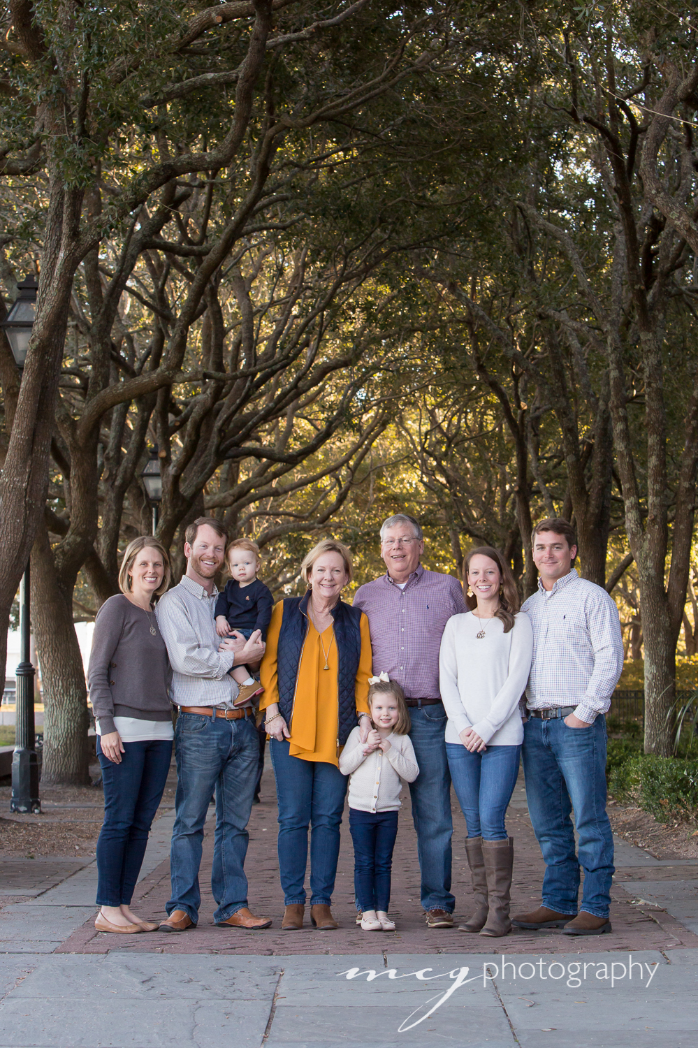 Charleston SC Fall Family Portraiture